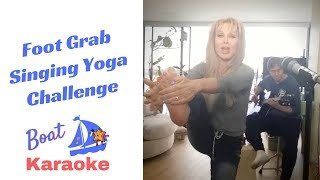 "Singing Fitness Challenge  ""Karyoga"" (Boat Karaoke, Lyrics in Description)"