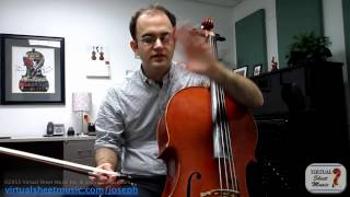 Cello Lesson - Bow and Endpin Tips