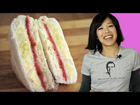 , title : 'DIY INKIGAYO Sandwich - the egg salad, STRAWBERRY JAM & cabbage K-POP STAR sandwich