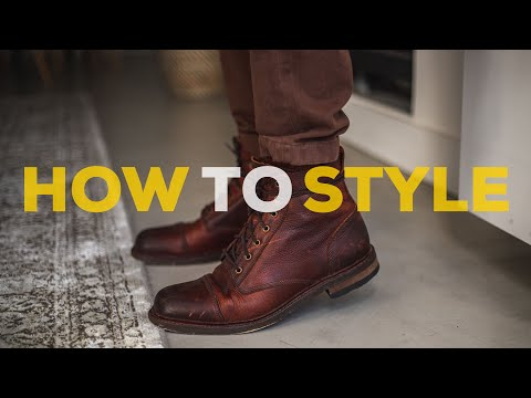 How to Style BROWN BOOTS | Men's Outfit Ideas | Parker York Smith