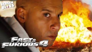 Gas Tanker ATTACK!  Opening Scene  Fast & Furious 4  SceneScreen