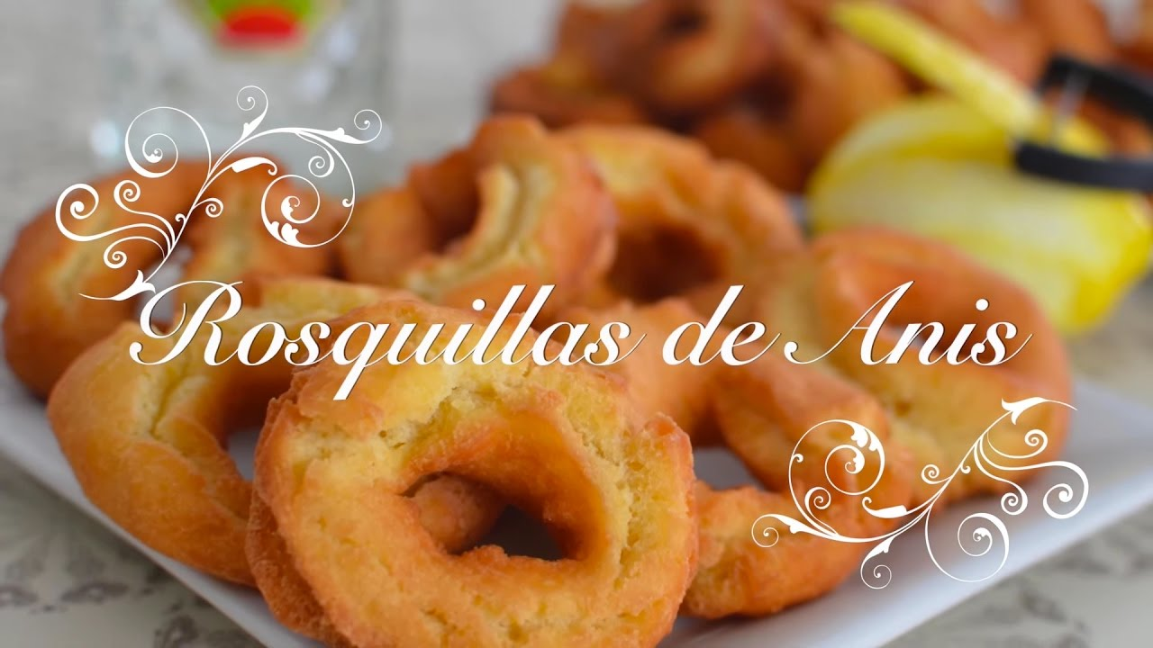 Rosquillas de Anis | Rosquillas Thermomix | Rosquillas de Anis Thermomix por chef de mi casa.com