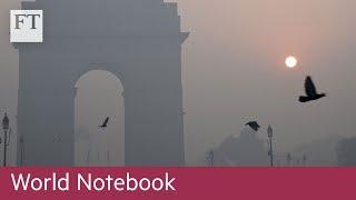 Delhi chokes on air pollution