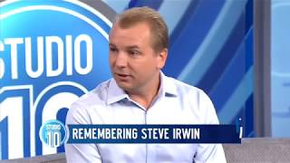 Steve Irwin's Last Words: Interview With His Underwater Cameraman Part 1 | Studio 10
