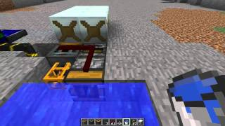 [Tutorials] Redpower & Industrialcraft - Automatic Water Mills
