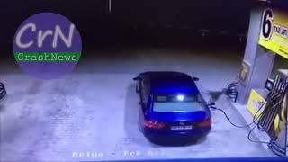 https://crashnews.org | Под Киевом взорвалась АЗС из-за невытащенного заправочного пистолета