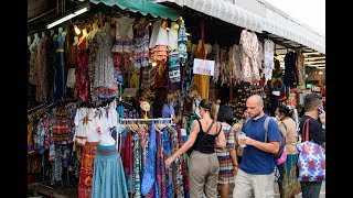 [4K] 2019 Walking From MRT To Chatuchak Weekend Market, Bangkok