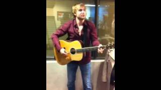 Adam Gregory sings on CISN COUNTRY