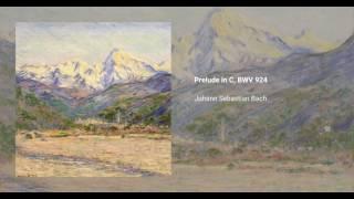 Prelude in C major, BWV 924
