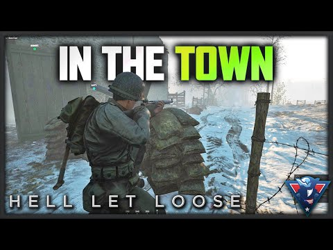CHAOS IN THE TOWN! | Hell Let Loose Gameplay