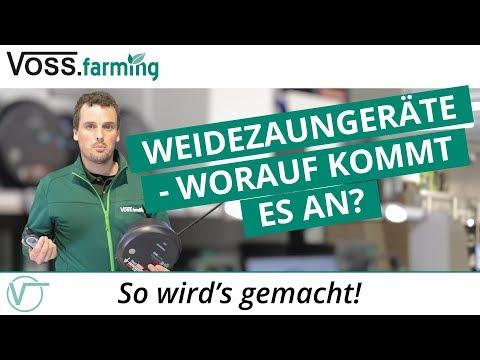 Weidezaungeräte - Worauf kommt es an?