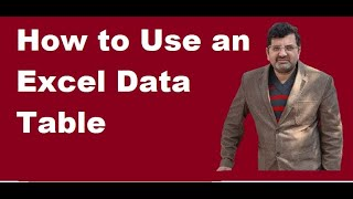 """How to Use an Excel Data Table for """"What-if"""" Analysis 