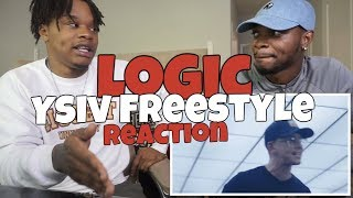 Logic   YSIV Freestyle (REACTION)
