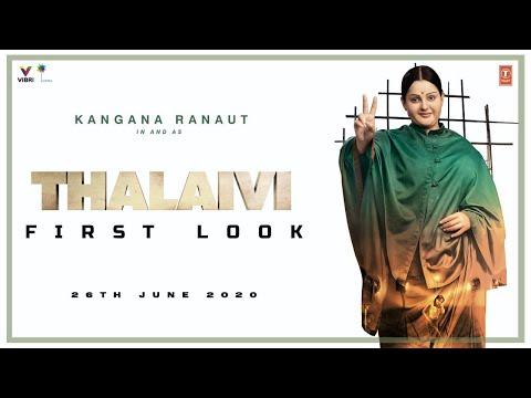 Thalaivi - Movie Trailer Image
