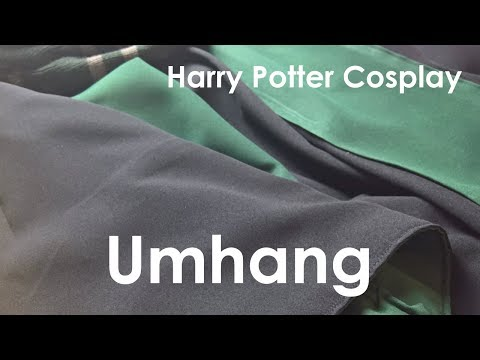 [Cosplay] Harry Potter - Umhang | DIY