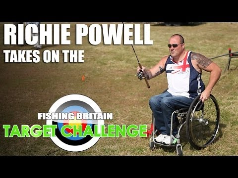How well does he fish? Richie Powell takes on the Target Challenge