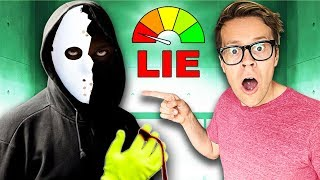 Video LIE Detector Test of GAME MASTER Hacker in Real Life! (Rescuing Kurt from the Quadrant) MP3, 3GP, MP4, WEBM, AVI, FLV Agustus 2019