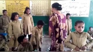 Uttar Pradesh Teacher Caught On Camera Brutally Beating Up Students   Viral Video   Uttar Pradesh
