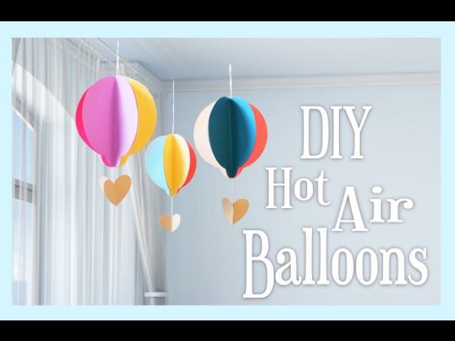 Diy-paper-hot-air-balloon