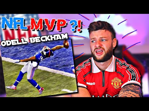 The SOCCER FAN Reacts to INSANE ODELL BECKHAM for the FIRST TIME