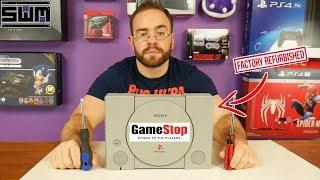GameStop Sent Me A Broken Refurbished PlayStation One...So Let's Fix It!