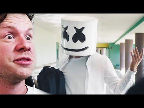 Marshmello - Blocks (Official Music Video) REACTION!!