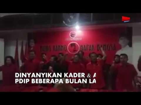 Netizen Ingatkan Yel-Yel Djarot Dan Kader PDIP Doakan Ahok Tumbang