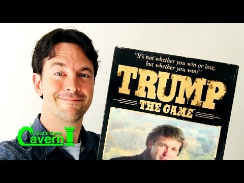 """Board Game Cavern reviews the first edition of """"Trump: The Game"""""""