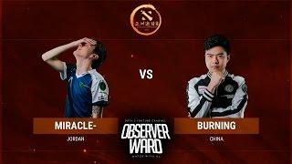 Турнир 1x1. Miracle vs Burning Полуфинал | DAC 2017 | 02.04.2017 | RU Highlights