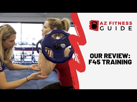Try Out F45 Training in East Phoenix! AZ Fitness Guide🏋