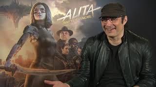 ALITA : BATTLE ANGEL Robert Rodriguez Interview - Making Of - Bloopers - Machete