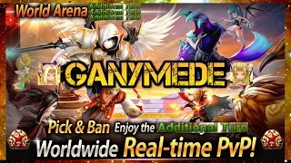 Ganymede in World Arena!