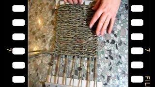 Плетение корзинки с квадратным дном.  Часть III.