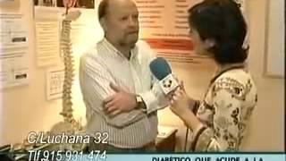 Marcelo Quiropractico reportaje sobre el ajuste quiropractico en Telemadrid -  Marcelo E. Ruiz San Juan