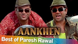 Best Hindi Comedy Scenes of Paresh Rawal | Superhit Movie Aankhen | Akshay Kumar - Amitabh Bachchan