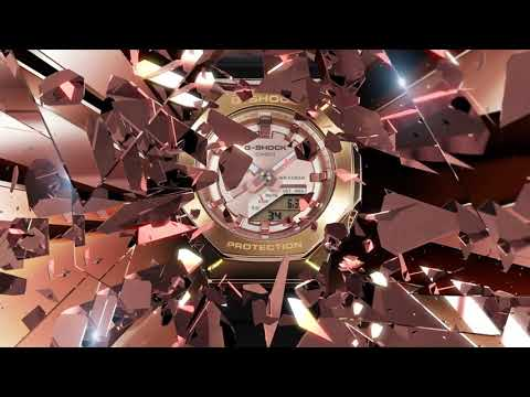 Musique publicité G-SHOCK GM-S2100, la version plus fine et en métal de la GA-2100    Juillet 2021