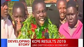 June Cheptoo Koech emerges as the second best pupil in Kenya | KCPE RESULTS 2019