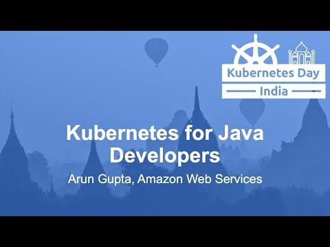 Kubernetes for Java Developers video