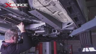 Holden COMMODORE XFORCE Cat-Back System Installation Guide 0bdda4278f3a