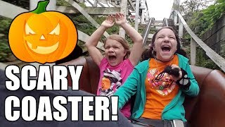 SCARY ROLLER COASTER! Happy Hauntings Halloween at Kennywood!   Babyteeth More!
