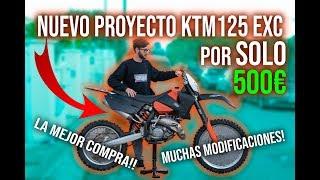 Como Ganar Dinero Extra Con Motos? 💲 | KTM EXC 125cc 2t Por 500€!!! #1