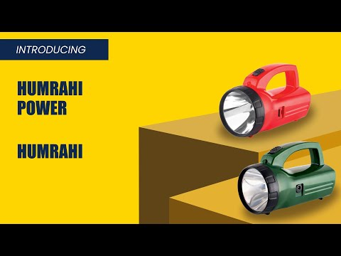 Plastic LED Torch, Model- Humrahi