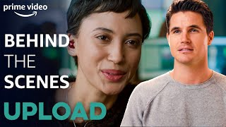 Behind The Scenes: Der Cast über die Entstehung und Geschichte von Upload | Upload | Prime Video DE