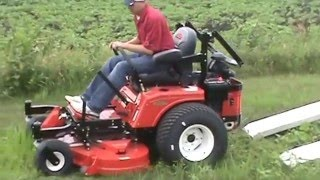 Aluma 7816R Tandem Utility Trailer Drive-Off Ramps