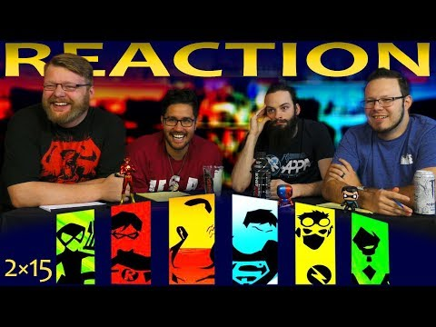 Young Justice 2x15 REACTION!!