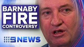 """Barnaby Joyce suggests NSW fire victims were """"most likely"""" Greens voters 
