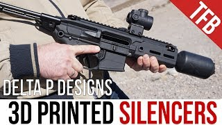"""""""Declassified"""" 3D Printed SMG Silencers: The Delta P Brevis III for the H&K MP7 and SIG Rattler"""