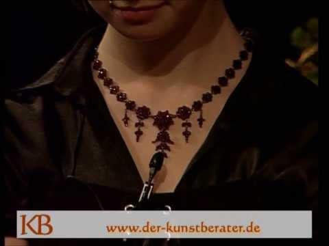Der Kunstberater - Antikschmuck Böhmischer Granat