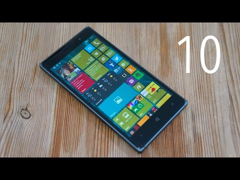Windows 10 Technical Preview for Phones: A Guided Tour | Pocketnow