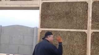 Проверка соломенных панелей. Владимир Инжир